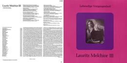 Superlimited Edition CD Lauritz Melchior. LEBENDIGE VERGANGENHEIT III. - Oper & Operette