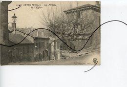CPA. D69 CUIRE. La Montée De L'église. Café Des Platanes. S FARGES EDIT LYON - Caluire Et Cuire