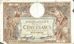 BILLET DE 100 FRANCS DE 1936 - 1871-1952 Anciens Francs Circulés Au XXème