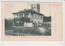 26761 Toscana CETTIGNANO Villa Michelangiolo Buonazzoli -proprieta Chiesa Settignano 1902 -802 Pineider Firenze - Italie