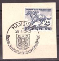 Allemagne - 1942 - N° 738 - Derby De Hambourg - Allemagne