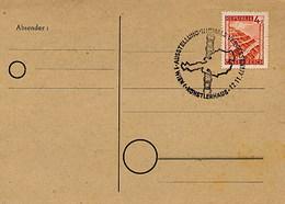 AUSTRIA - WIEN  1946 - KONSTLERHAUS - NIEMALS VERGESSEN - IN MEMORIA DELLE VITTIME DELLA GESTAPO - Seconda Guerra Mondiale