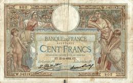 BILLET DE 100 FRANCS DE 1932 - 1871-1952 Anciens Francs Circulés Au XXème
