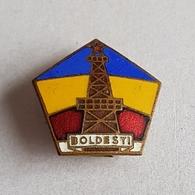 OLD COMMUNIST ROMANIA BOLDESTI  PIN  BADGE DISTINTIVO - Autres