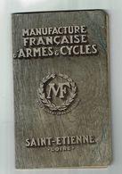 Catalogue Manufacture Française ARMES & CYCLES Saint-Etienne Chasse Vélo Machine à Coudre - Old Paper