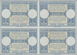 Ceylon / Sri Lanka: 1945. International Reply Coupon 35 Cents Of A Rupee (London Type) In An Unused - Sri Lanka (Ceylon) (1948-...)