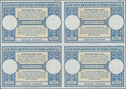 Ceylon / Sri Lanka: 1959. International Reply Coupon 65 Cents Of A Rupee (London Type) In An Unused - Sri Lanka (Ceylon) (1948-...)