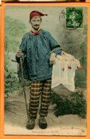 Lip006, Paysan Bressan Allant Au Marché Avec Ses Poulets De Bresse, Poule, Viande, Bonnet Rouge,circulée 1913 - Agriculture
