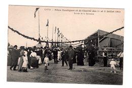 CPA 34 - Cette - Fêtes Nautiques Et De Charité 1911 Entrée De La Kermesse - Sete (Cette)