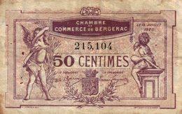 1235-2019     CHAMBRE DE COMMERCE DE BERGERAC 50 CENTIMES - Chambre De Commerce