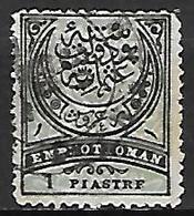 TURQUIE    -  1884.   Y&T N° 57 Oblitéré - Used Stamps