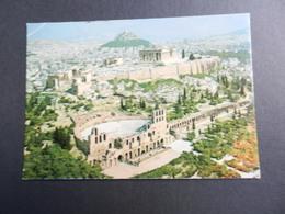 19867) ATENE L'ACROPOLI ATHENS VIAGGIATA - Grecia