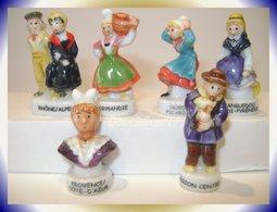 Folklore.. Lot De 6 Fèves .. Ref AFF : 122-2004...(pan 0014) - Regions