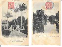 2 Cpa Martinique Fort De France - Fort De France