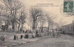 ¤¤    -   CHAMPAGNE-les-MARAIS   -  Place De L'Eglise     -  ¤¤ - Other Municipalities