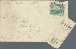 Irak: 1928, Ikhwan Wars, Air Mail Covers (2) Dated Feb./Mar. 1928 Written By RAF Members Franked 6 A - Irak