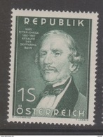 """Österreich 1952 """"Ing.Ritter V.Ghega"""" Postfrisch (siehe Foto/Scan) - 1945-60 Unused Stamps"""