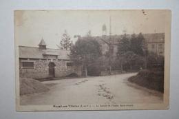 35 : Noyal Sur Vilaine - Le Lavoir Et L'Asile Saint Alexis ( Assez Rare ) - Autres Communes