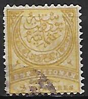 TURQUIE    -  1884.   Y&T N° 58 Oblitéré - Used Stamps
