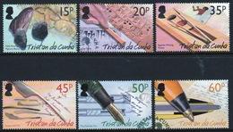 Tristan Da Cunha 2004 Complete Set Of Stamps Celebrating The History Of Writing. - Tristan Da Cunha