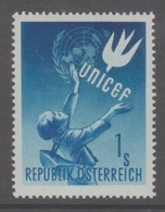 """Österreich 1949:  """"UNICEF""""  Postfrisch (siehe Foto/Scan) - 1945-.... 2nd Republic"""
