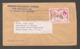 8334- Bermuda , British Colonies , Cover To USA - - Bermudes