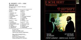 Superlimited Edition CD P.Schreier&S.Richter. SCHUBERT. WINTERREISE - Música & Instrumentos