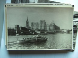 Rusland Russia USSR Moscou Moskwa Panorama With Boat - Rusland