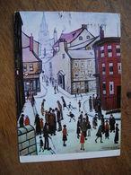 CPM Lowry TBerwick On Tweed , Slogan Hull Gareway To Europe - Paintings