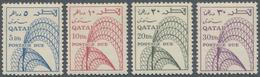 Katar / Qatar - Portomarken: 1968, 4d. To 30d., Complete Set Of Four Values, Unmounted Mint. - Qatar