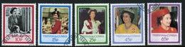 Tristan Da Cunha 1986 Complete Set Of Stamps Celebrating The 60th Birthday Of The Queen. - Tristan Da Cunha