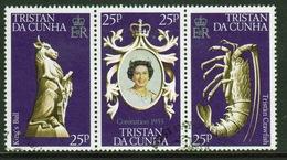 Tristan Da Cunha 1978 Complete Set Of Stamps Celebrating The 25th Anniversary Of The Coronation. - Tristan Da Cunha