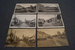 Hachy,lot De 6 Cartes,collection,RARE,ancienne Carte Postale - Virton