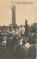 VIRTON : 22 Aout 1919 - Cimetiere De Belle Vue - Discous Prononcé Par M. Garroy - TRES RARE VARIANTE - Virton