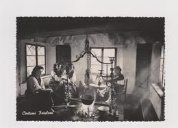 FRIULI Costumi CARNICI, Lotto 7 Cartoline  - F.G.  - Anni  '1950/'1960 - Italia