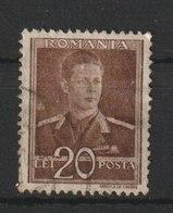 MiNr. 813  Rumänien 1944/1945. Freimarken: König Michael I. - 1918-1948 Ferdinand, Charles II & Michael