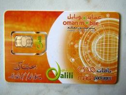 SIM   GSM  OMAN  MINT  TOP   CONDITION - Oman