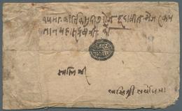 Tibet: TIBETAN-NEPALESE WAR (1858-61), 1915./7/6/ Bikram Sabat.(= August 1858) Field Cover Sent By M - Timbres