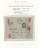 Thematik: Antarktis / Antarctic: 1907/1955, PIONEERS IN ANTARCTICA, New Zealand, 1 D Rose-carmine Ca - Sonstige