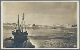 Thematik: Arktis / Arctic: 1913/1929, Spitsbergen. Lot Of 3 Different Picture Postcard Concerning SP - Polarmarken
