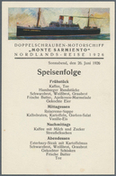 "Thematik: Arktis / Arctic: 1926, June, Nordic Cruise Of Motor Ship ""MONTE SARMIENTO"", Eleven Unused - Polarmarken"