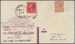 "Thematik: Arktis / Arctic: 1931, USA/Belgium. Lot Of One US Cover With Cachet ""Wilkins-Ellsworth Tra - Polarmarken"