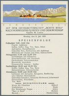 "Thematik: Arktis / Arctic: 1935, July, Nordic Cruise Of Motor Ship ""MONTE ROSA"", Seven Unused Ppc Ea - Polarmarken"