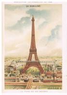 -1- CHROMO : LA KABILINE – EXPOSITION UNIVERSELLE DE 1889 : LA TOUR DE 300 METRES - Chromos