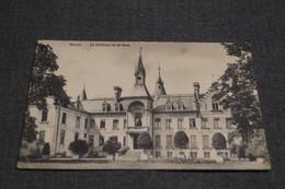 Gesves 1909,le Château Vu De Face,collection,RARE,ancienne Carte Postale - Gesves