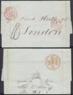 """Suisse 1844 - De GENEVE Vers CONDROS """" SUISSE PAR FERNEZ """" (6G23940) DC1835 - Suisse"""