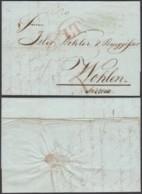 "Italie 1839 - MODENA VERS WOHLEN SUISSE "" LT ""(6G23940) DC1861 - Italië"