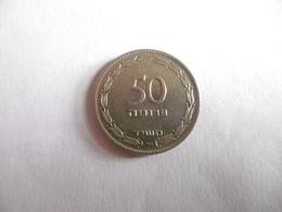 (A245)-ISRAEL-PIECE MONNAIE 50 PRUTA - Israel