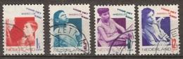 1931 Kind NVPH 240-243  Cancelled/gestempeld - Periode 1891-1948 (Wilhelmina)