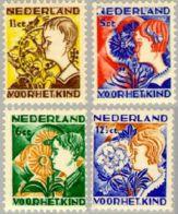 1932 Kind NVPH 248-251  Ongestempeld MLH* - Periode 1891-1948 (Wilhelmina)